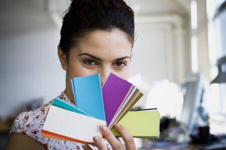 input device: Businesswoman Working