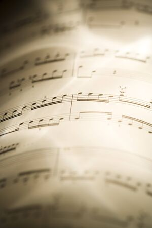 notations: Close-Up Of Musical Score LANG_EVOIMAGES
