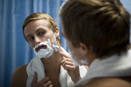 Male Grooming Himself