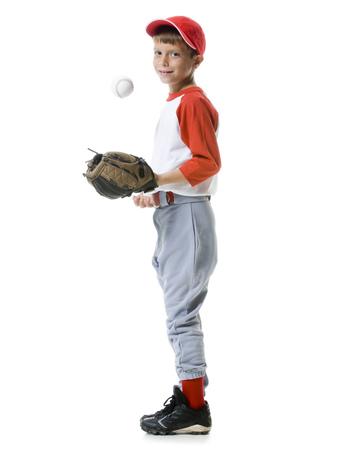 plumb: Portrait Of A Baseball Player Tossing A Baseball