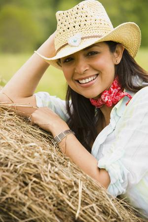 plumb: Portrait Of At Woman Smiling