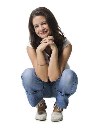 Retrato de una mujer adulta media sonriendo LANG_EVOIMAGES