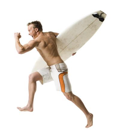 hurried: Male Surfer LANG_EVOIMAGES