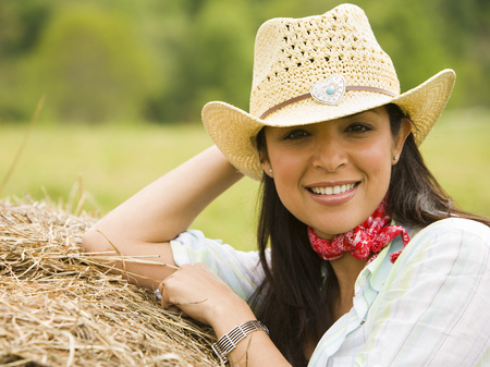 ebullient: Portrait Of A Woman Wearing A Hat LANG_EVOIMAGES