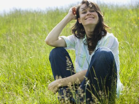 ebullient: Portrait Of A Woman Smiling