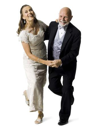 Portrait Of A Senior Couple Dancing LANG_EVOIMAGES