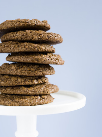 Stack Of Chocolate Cookies LANG_EVOIMAGES