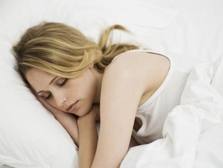 slumber: Woman Sleeping LANG_EVOIMAGES