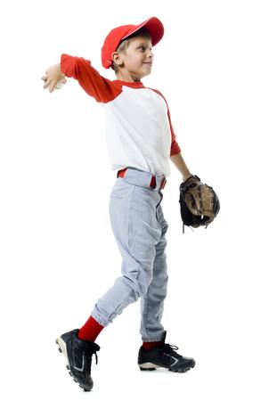 Baseball Player Throwing A Baseball LANG_EVOIMAGES
