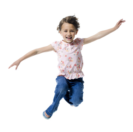 ebullient: Portrait Of A Girl Jumping LANG_EVOIMAGES