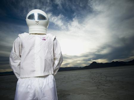 futurist: Close-Up Of An Astronaut