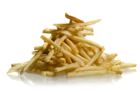reflective: Close-Up Of French Fries