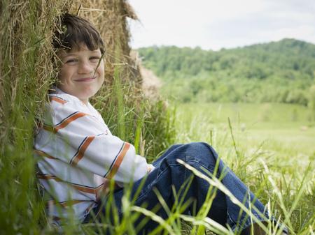 Portrait Of A Boy Smiling