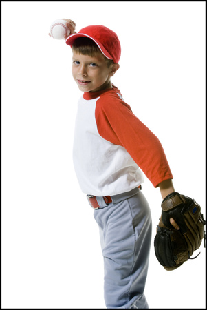 vómito: Portrait Of A Baseball Player Throwing A Baseball LANG_EVOIMAGES