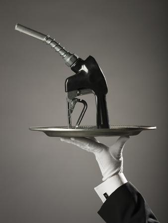 Fuel Pump On A Platter