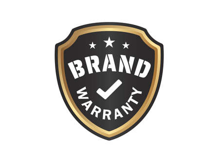 Brand Warranty Shield image on white background