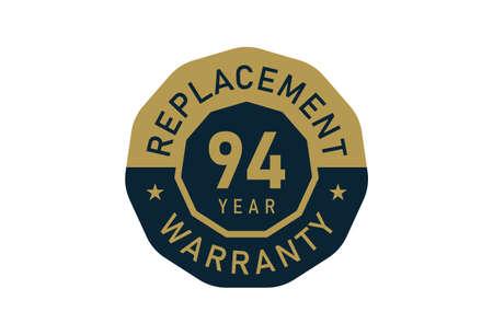 94 year replacement warranty, Replacement warranty images