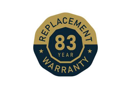 83 year replacement warranty, Replacement warranty images