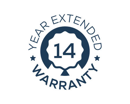 14 Years Warranty images, 14 Year Extended Warranty logos