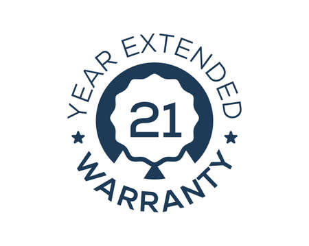 21 Years Warranty images, 21 Year Extended Warranty logos Logo