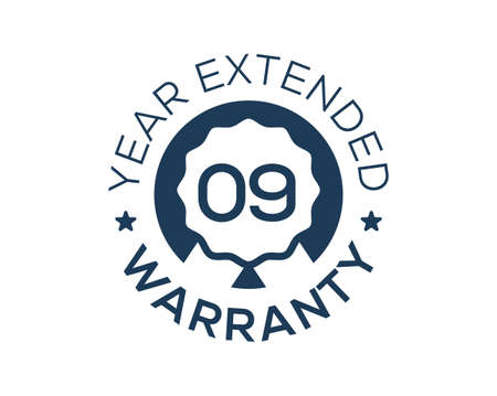9 Years Warranty images, 9 Year Extended Warranty logos Logo