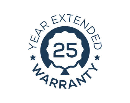 25 Years Warranty images, 25 Year Extended Warranty logos