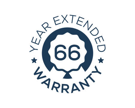 66 Years Warranty images, 66 Year Extended Warranty logos