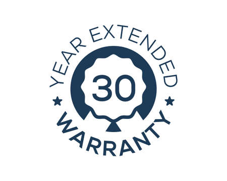 30 Years Warranty images, 30 Year Extended Warranty logos Logo