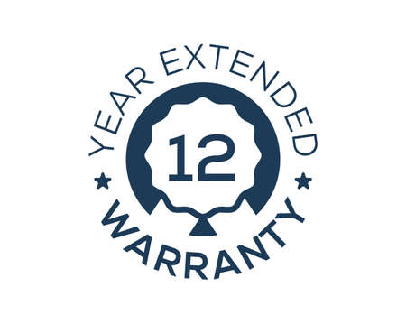 12 Years Warranty images, 12 Year Extended Warranty logos