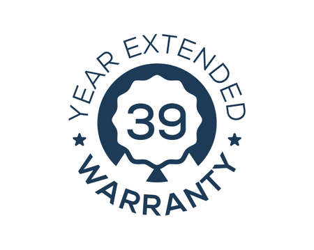 39 Years Warranty images, 39 Year Extended Warranty logos Logo