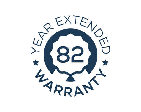 82 Years Warranty images, 82 Year Extended Warranty logos Logo