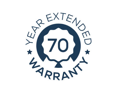 70 Years Warranty images, 70 Year Extended Warranty logos