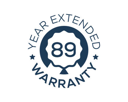89 Years Warranty images, 89 Year Extended Warranty logos