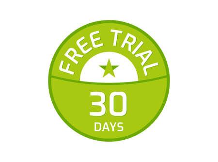 30 Days Free Trial logo, 30 Day Free trial image