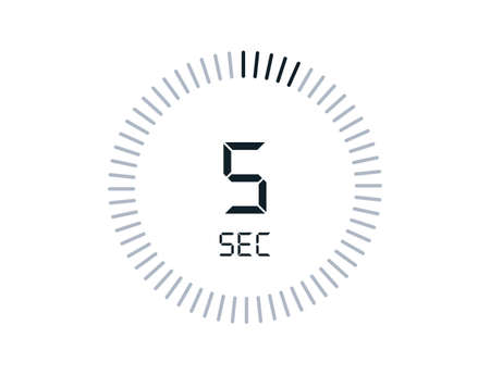 5 second timers Clocks, Timer 5 sec icon