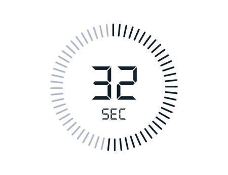 32 second timers Clocks, Timer 32 sec icon
