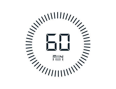 60 minutes timers Clocks, Timer 60 min icon