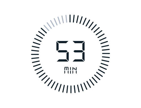 53 minutes timers Clocks, Timer 53 min icon