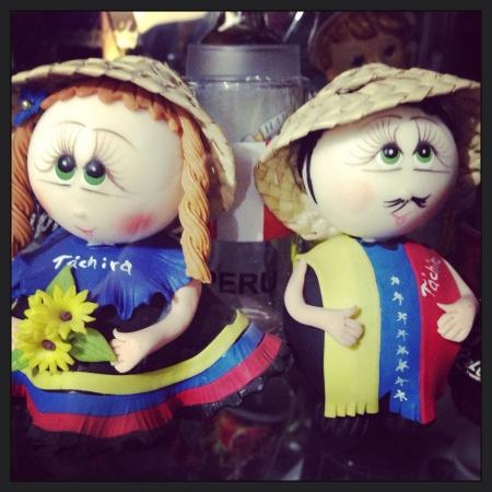 a Venezuela doll Reklamní fotografie