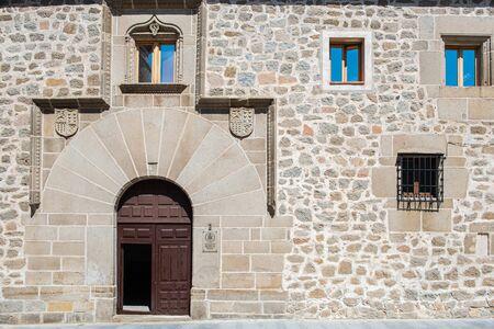 Convent Siervas de Maria, street Madre Soledad, Avila, Spain, convento Stock fotó