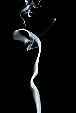 Smoke texture black background graphic resources white smoke 写真素材