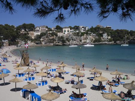 Majorca paradisiac beach beautiful coastline