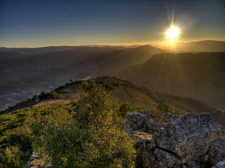 Sunset at Leonardo da Galafura, Douro Valley