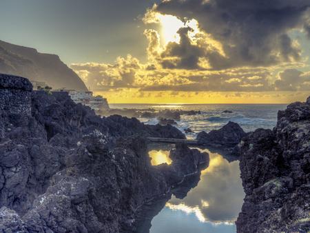 Madeira Northern Coast Stok Fotoğraf