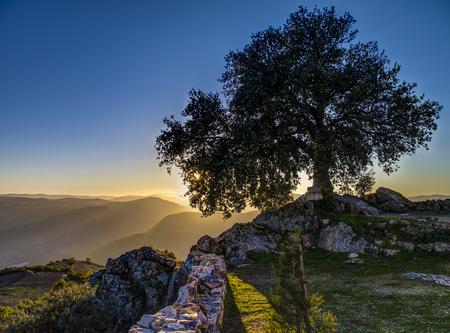 Sunset at São Leonardo da Galafura, Douro Valley