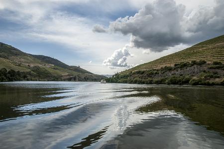 Douro River Valley Stok Fotoğraf