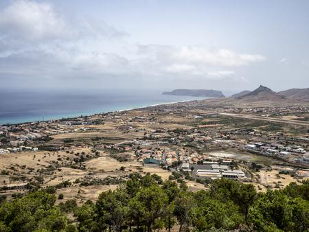 Porto Santo, Madeira, Portugal, View Stok Fotoğraf