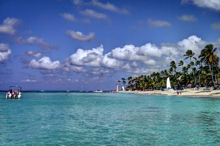 Caribbean paradisiac beach