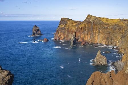 Madeira Northern Coast seascape view