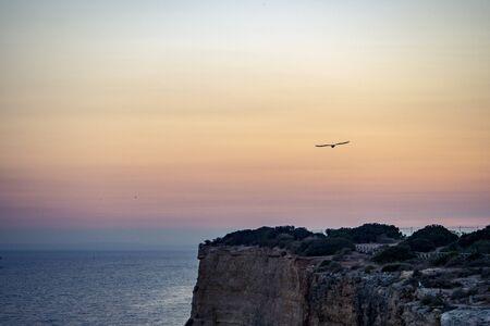 Carvoeiro beach, Algarve, Portugal Stok Fotoğraf